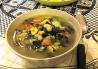Minestracon cavolo nero: ricca di sapore, buona per il corpo