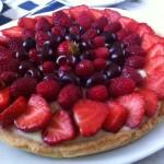 Voglia di una torta fresca? La crostata con tanta frutta!