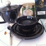 La preparazione del tè verde