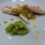 Nasellini con maionese di kiwi