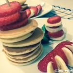 Pancakes: a colazione e merenda!